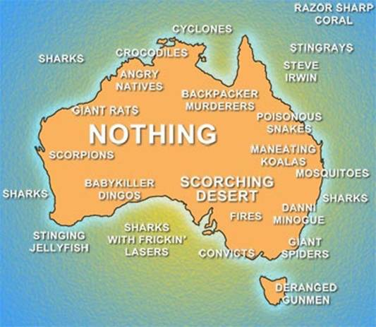 Young Australia Map.Lonely Island Ramblings Of A Young Aussie Writer