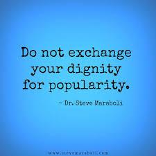 dignity popularity