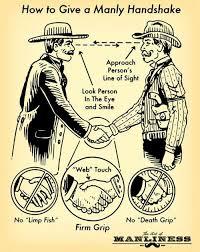 Handshake Manliness